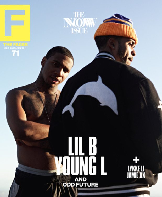 FADER Issue 71 Lil B Young L cover
