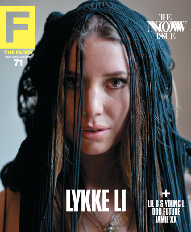 FADER Issue 71 Lykke Li cover